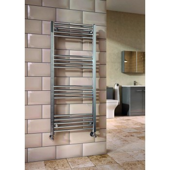 Chrome Towel Rail: 500X1600