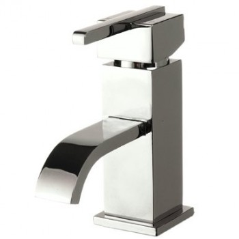 Epic mono basin mixer with click clack waste