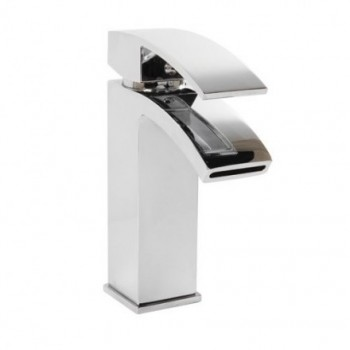 Peak Mono Basin mixer with click clack waste