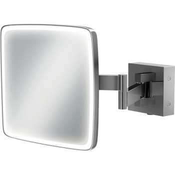 Eclipse Square Magnifying Mirror H18 x W18cm