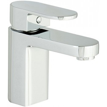 Gento mono basin mixer with click clack waste