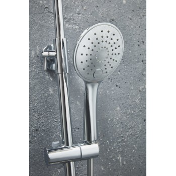 Oval Rigid Rise Shower