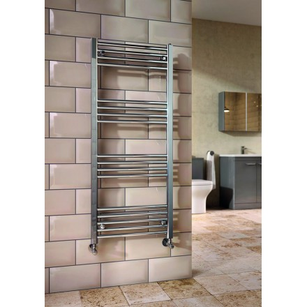 Chrome Towel Rail: 600X1200